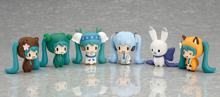 Nendoroid Plus : Snow Miku and Friends from the Norrth (Saison 1) - Capsule Factory