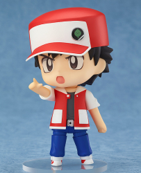 Nendoroid Pokemon Trainer Red & Green - Pokémon