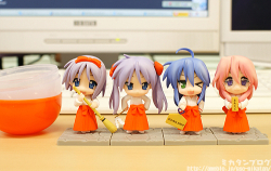 Nendoroid Lucky☆Star New Year Set (Capsule Version) - Lucky ☆ Star
