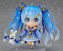 Nendoroid Snow Miku (Version 2017) : Lapin - Vocaloid