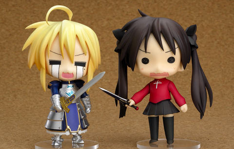Nendoroid Lucky Star Fate Cosplay Set - Lucky ☆ Star